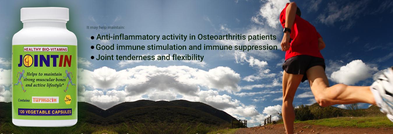 Jointin Osteoarthritis relief Veg Cap 120 counts